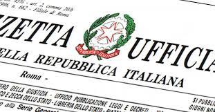 DECRETO RISTORI - GAZZETTA UFFICIALE DEL 28.10.2020