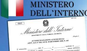 MINISTERO DELL\'INTERNO - CIRCOLARE 31 MARZO 2020 - CHIARIMENTI
