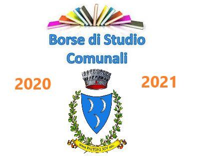 BORSE DI STUDIO 2020-2021