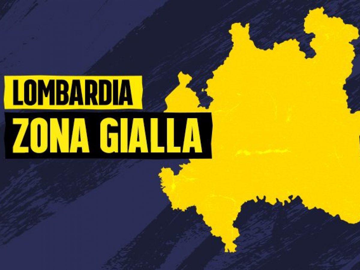 ORDINANZA MINISTERO DELLA SALUTE DEL 29 GENNAIO 2021 - LOMBARDIA IN ZONA GIALLA